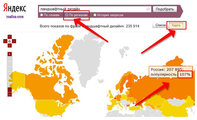 регионы в wordstat yandex